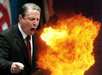 Al Gore  former VP of the USA, leading climate change campaigner, Nobel Peace Prize winner, Academy Award winner, Emmy winner, lead the US delegations to the Rio Earth Summit and Kyoto Climate Change conference, largest shareholder in the Chicago Cli