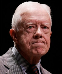 Jimmy Carter  former President of the United States, Nobel Peace Prize Laureate
