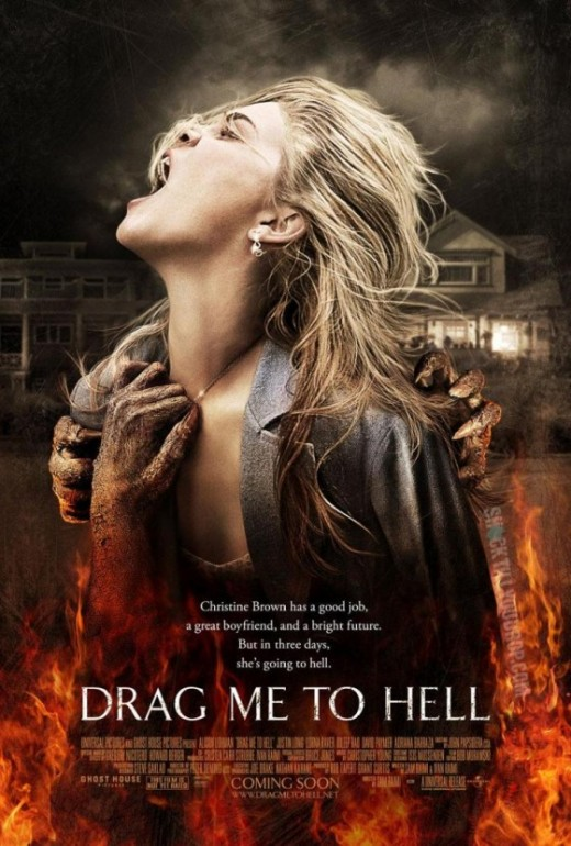 Drag me to hell a film directed by Sam Raimi, image copyright 2010.