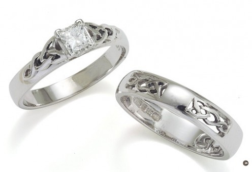 Celtic Knot Wedding Ring, celtic ring