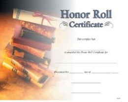 These Honor Roll certificates for schools are a great way to reward the huge accomplishment of your students.