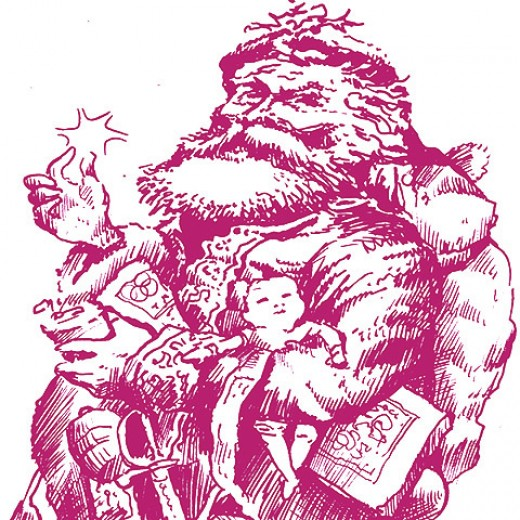 Traditional Santa by rlz