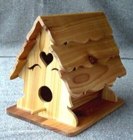 ornate bird house plans