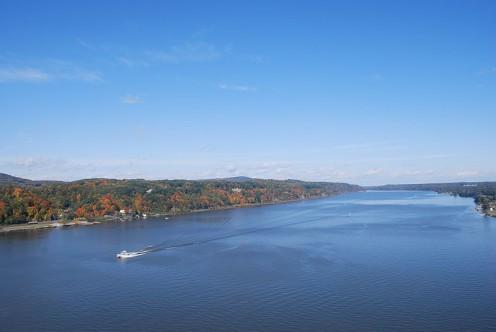 The Hudson River near Fort Orange.
