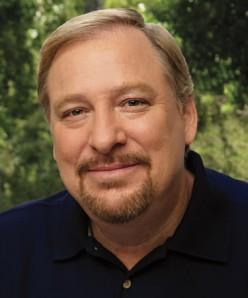 Larry Warren, Pastor of Saddleback church and spiritual leader