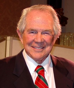 Pat Robertson outspoken religious and conservative