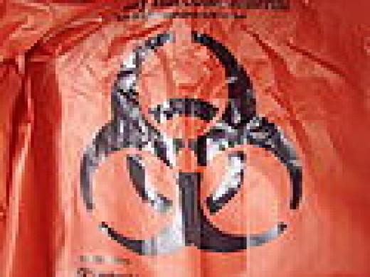 Red Biowaste bag