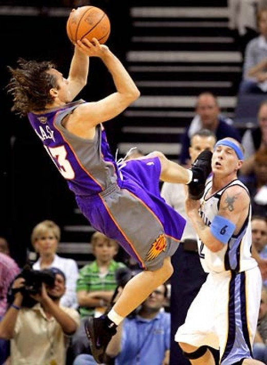 Steve Nash who I drafted #18 at PG.