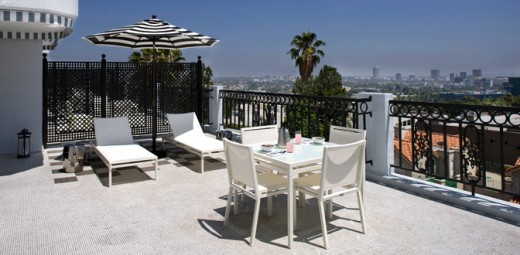 Veranda Suite/London West Hotel in Hollywood