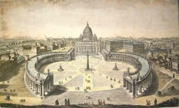 St Peters Square, Rome