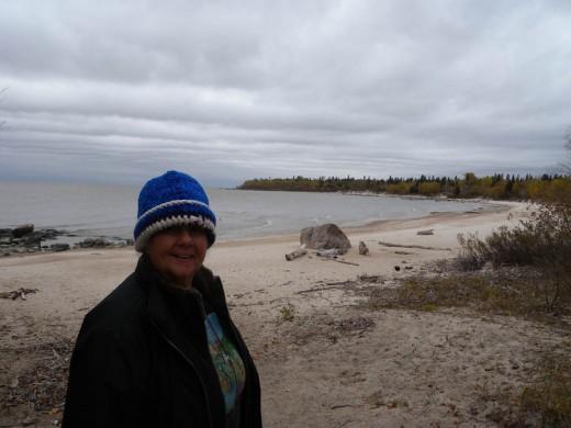 Lauri on Victoria Beach