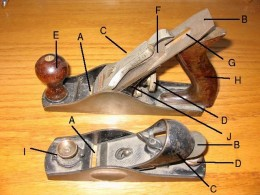 Woodworking Planes diagram - click photo to enlarge