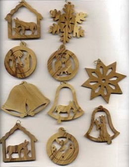 homemade wooden christmas decorations
