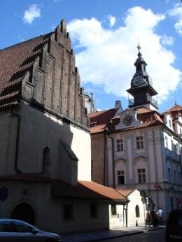 Old-New Synagogue, Josefov, Prague