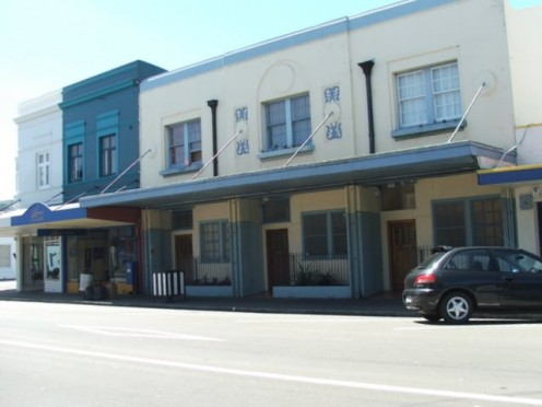 1930's Shops, refurbished into apartments Petone, Wellington