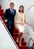 France President Nicolas Sarkozy and wife Carla Bruni-