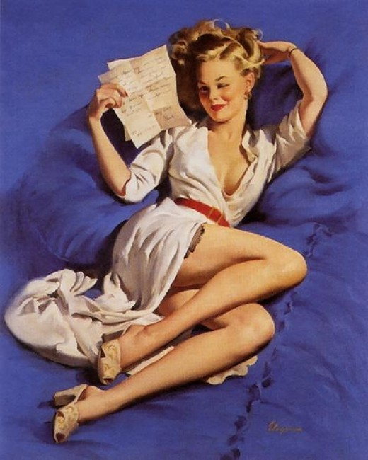 Pin Up Art. Why Pin-Up Art?