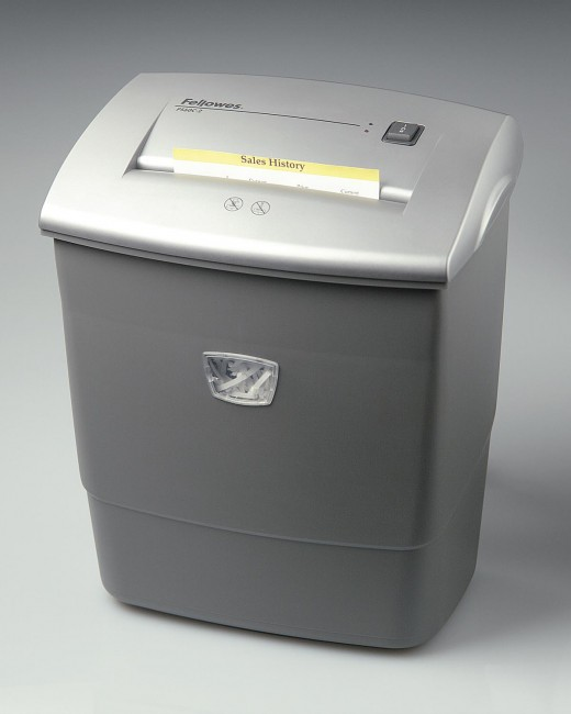 Fellows Cross Cut Paper Shredder that I have owned for about 5 years now