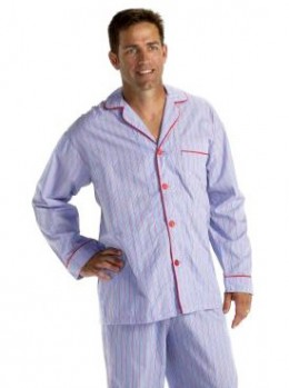 Style choices in men's pajamas have increased in recent years.