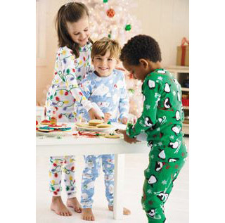 Kids will spend all day in their pajamas if you let them!