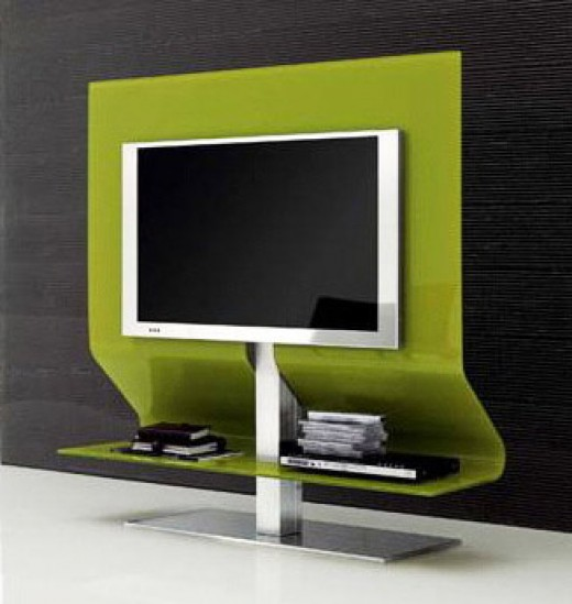 Ultra-sleek and modern TV stands look great!