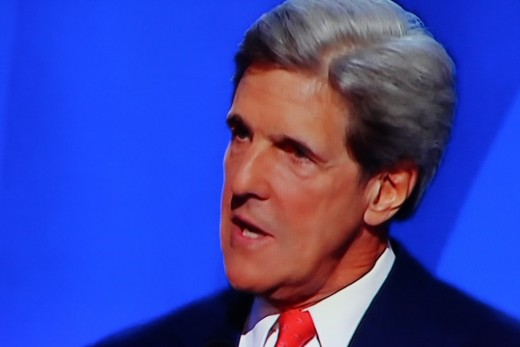 John Kerry, Democratic Convention 2008