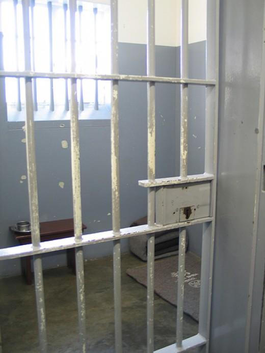 Nelson Mandela's Cell Robben Island