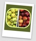 Pear, Apple and Raspberry Crisp!