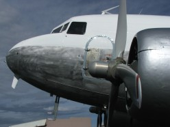 DC3 on the ground. Thanks and Copyright to Craig Dealey.