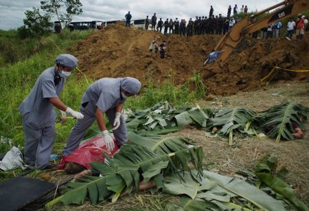 A chilling and horrifying deaths of the victims.Picture courtesy of english.people.com.cn