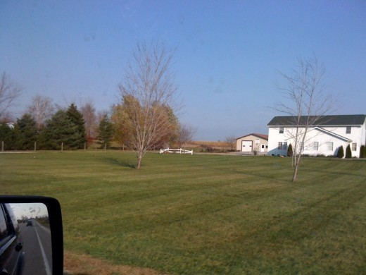 An Amish farm outside Fort Wayne.