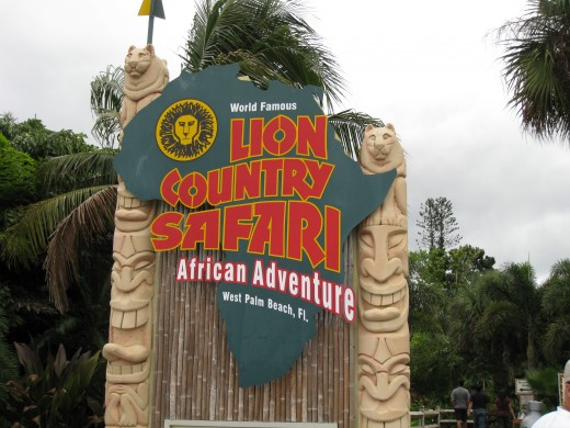 Lion Country Safari, West Palm Beach, Florida