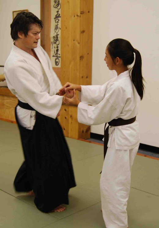 Aikido: An ideal self defense technique for women which reduces dependency on upper body strength.