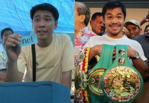 *photo-pacquiao: http:/www.boxnews.com.ua/en/news/4340/2008-06-19/Pacman-ready-to-make-history-; *photo-efren: http:/normannorman.files.wordpress.com/2009/10/efrenpenaflorida.jpg;