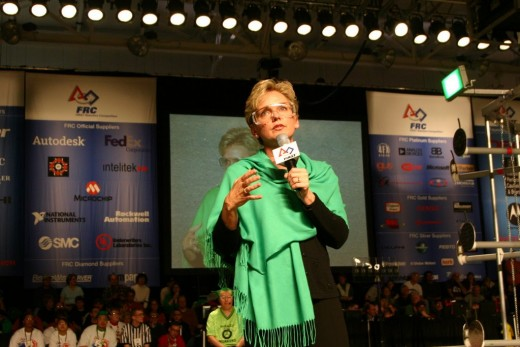 Michigan Governor Jennifer Granholm, First Robotics Competition, Wayne State University deedsphoto