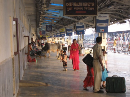 Yoga was invented at an Indian train station. Probably.