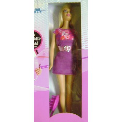 Barbie Glamour Jet doll that comes with the set (click for larger image)