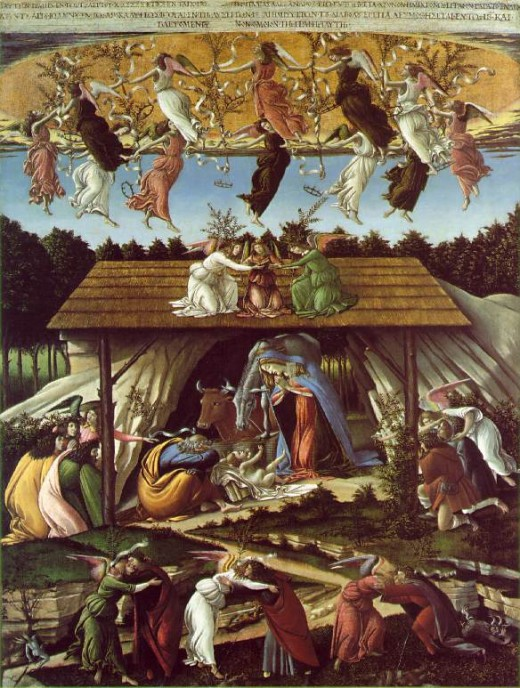 Mystical Nativity, Botticelli