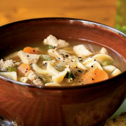 Here's a new and unusual recipe for turkey soup. This way you can use your left over turkey.