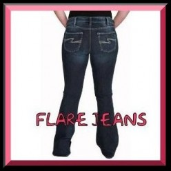 Flare Leg Jeans, Best Jeans For A Big Butt