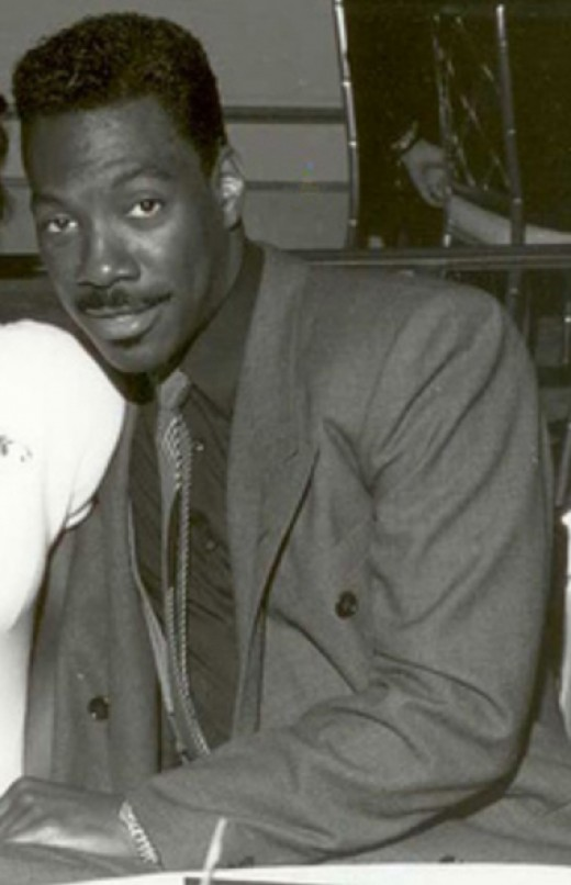 Eddie Murphy - note the strong jaw and fiery eyes.