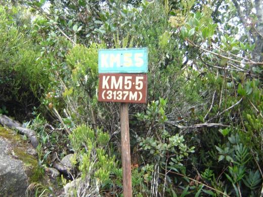 5.5 km Kota Kinabalu Park