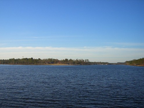 Paul B. Johnson State Park, just to the south of Hattiesburg.