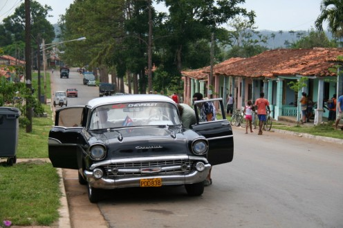 Travel Cuba by Classic car is a must.  A Chevrolet