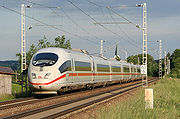 German ICE high speed passenger train (a form of multiple unit, picture courtesy of wikipedia