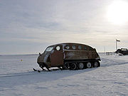 Old-style Bombardier for arctic travel - wpcontent.answers.com/wikipedia/commons