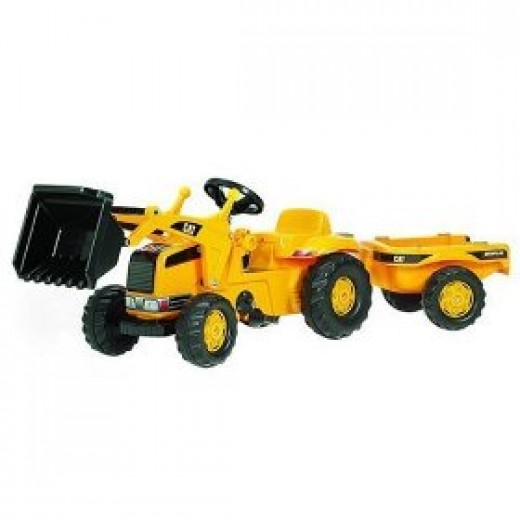 Toy pedal tractor