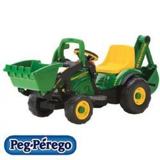 John Deere electric ride on toy tractor