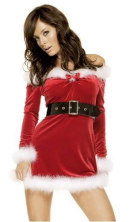 Sexy Santa Look - Ho Ho Ho, Have I got a surprise for you!