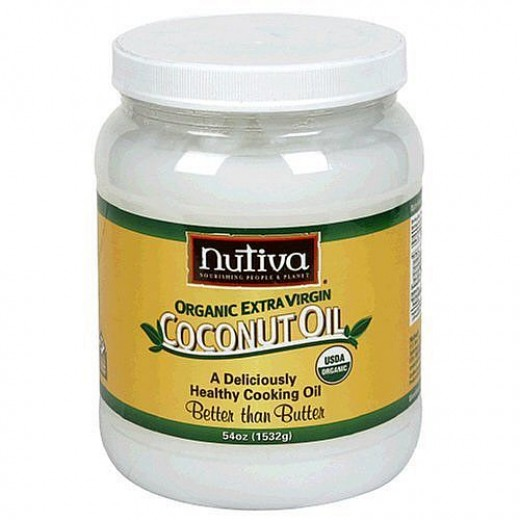 Nutiva Brand Organic Extra Virgin Coconut Oil - 54 oz - I usually buy for about $20